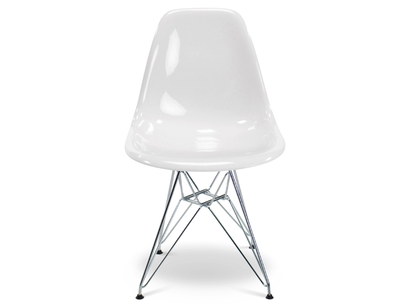 Image of the design chair DSR Eames chair - White shiny