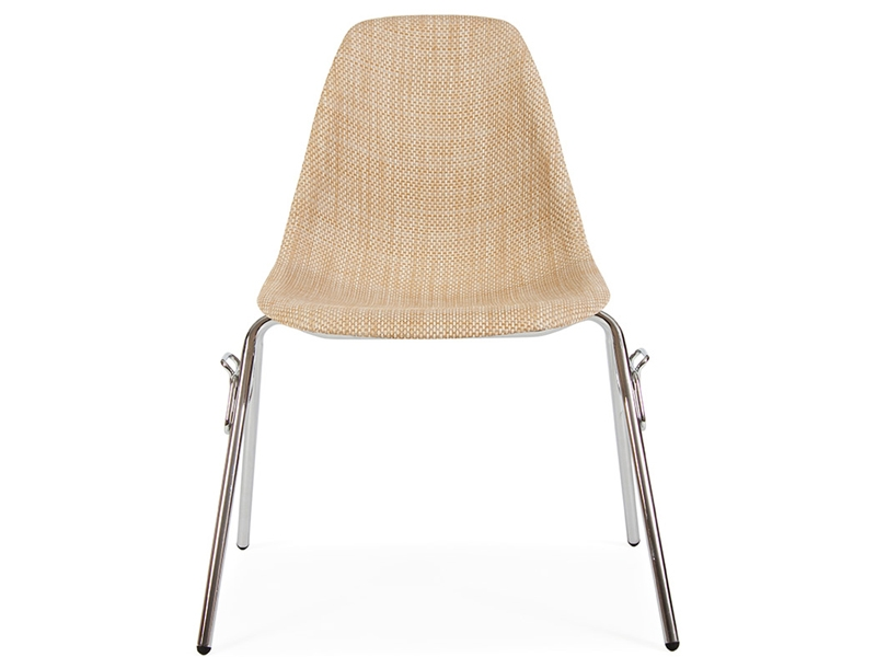 Image of the design chair DSS chair Weave stackable - Beige