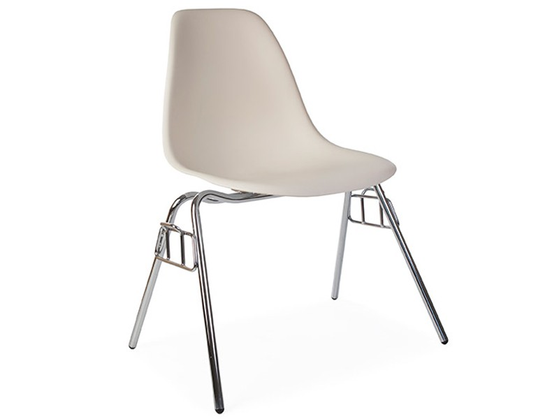 Image of the design chair DSS Eames chair stackable - Cream