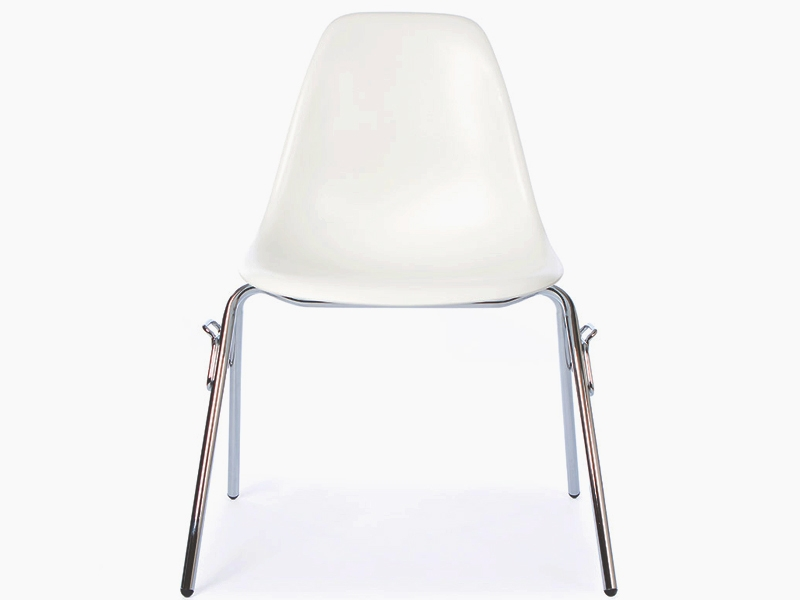Image of the design chair DSS Eames chair stackable - White