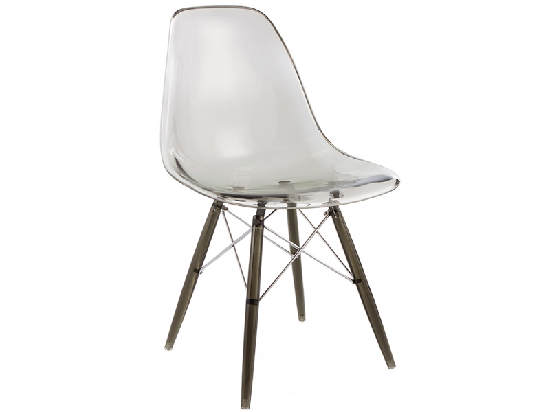 Image of the design chair DSW chair All Ghost - Smoky grey