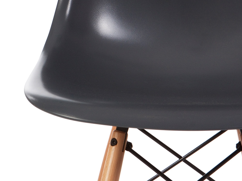 Image of the design chair DSW Eames chair - Anthracite