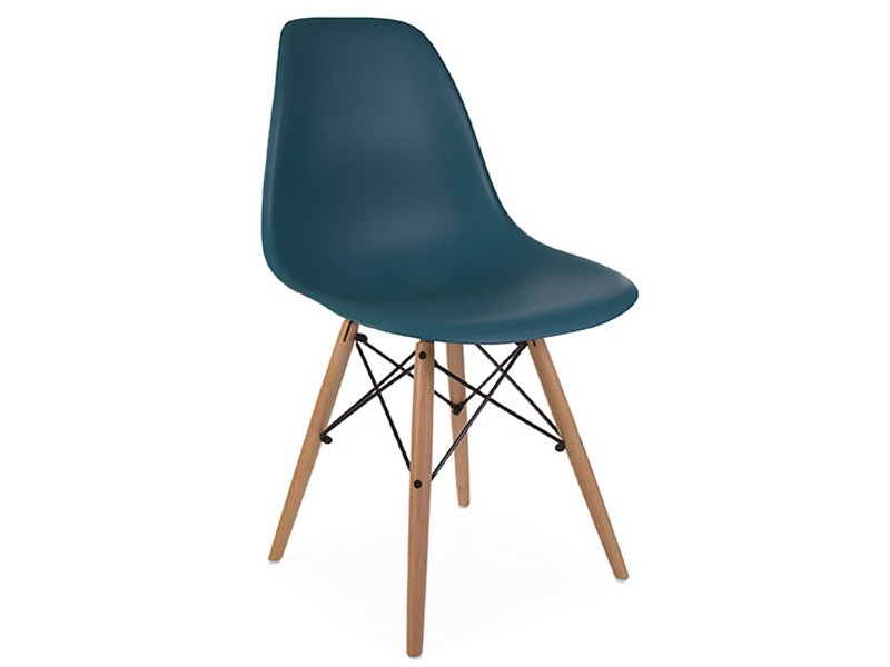 Image of the design chair DSW Eames chair - Blue green