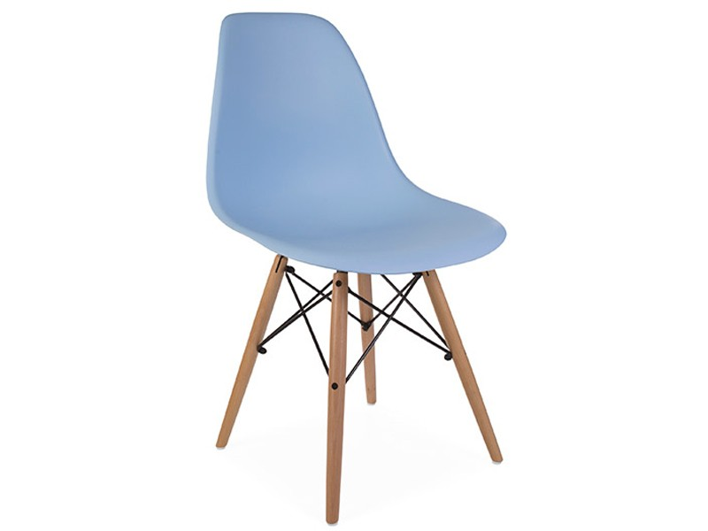 Image of the design chair DSW Eames chair - Light blue