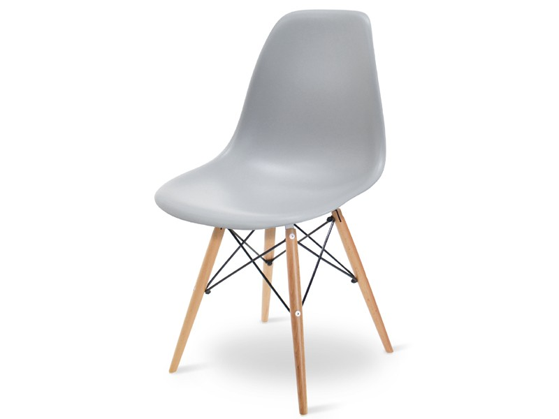 Image of the design chair DSW Eames chair - Light grey