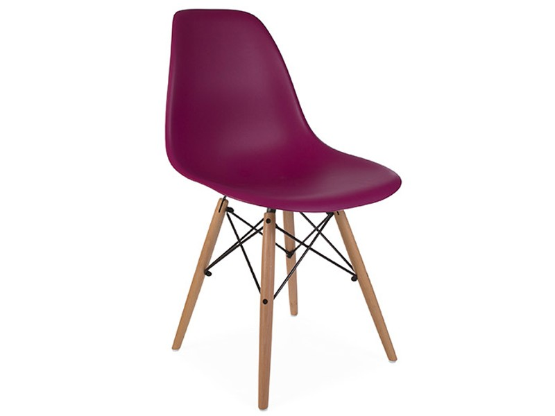 Image of the design chair DSW Eames chair - Purple