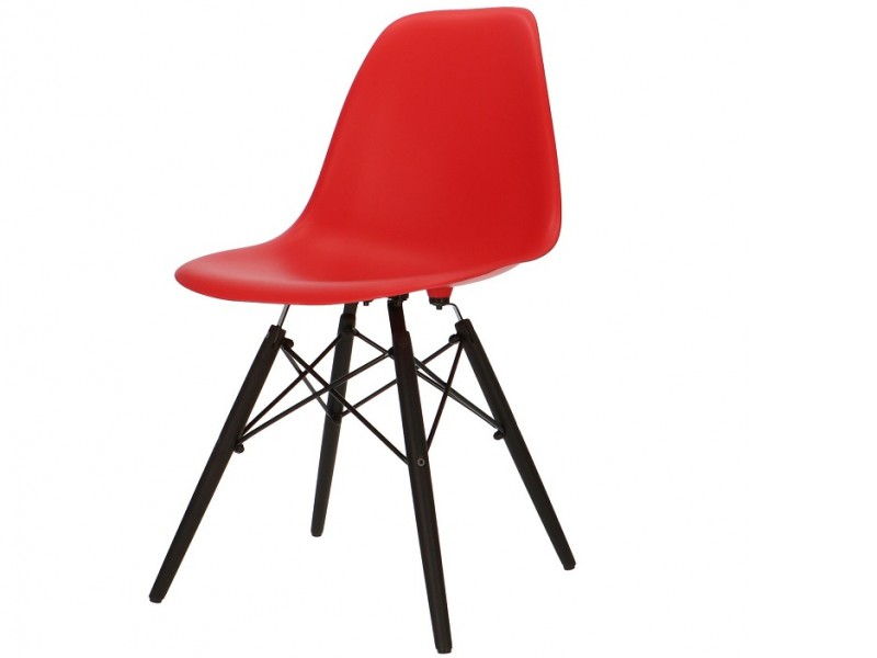 Image of the design chair DSW Eames chair - Red