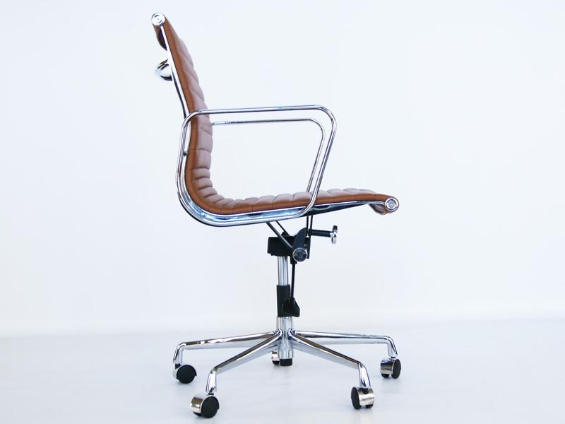 eames chair alu ea117 caramel. Black Bedroom Furniture Sets. Home Design Ideas