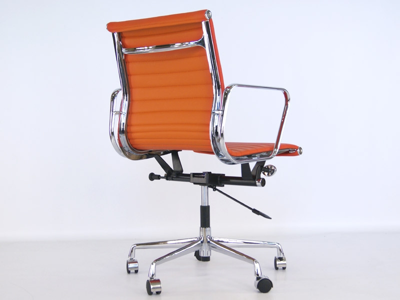 eames chair alu ea117 orange. Black Bedroom Furniture Sets. Home Design Ideas
