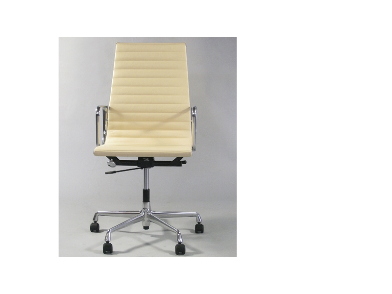 Image of the design chair Eames chair Alu EA119 - Beige