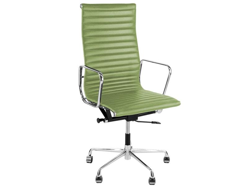 Image of the design chair Eames chair Alu EA119 - Lemon green