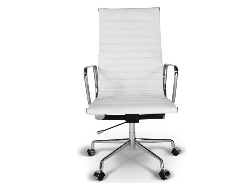 image of the design chair eames chair alu ea119 white
