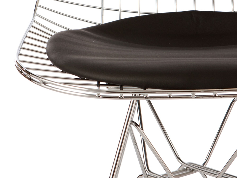 Image of the design chair Eames DKR chair - Black