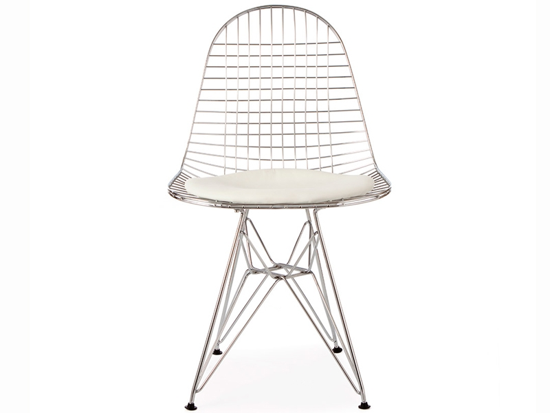 Image of the design chair Eames DKR chair - White