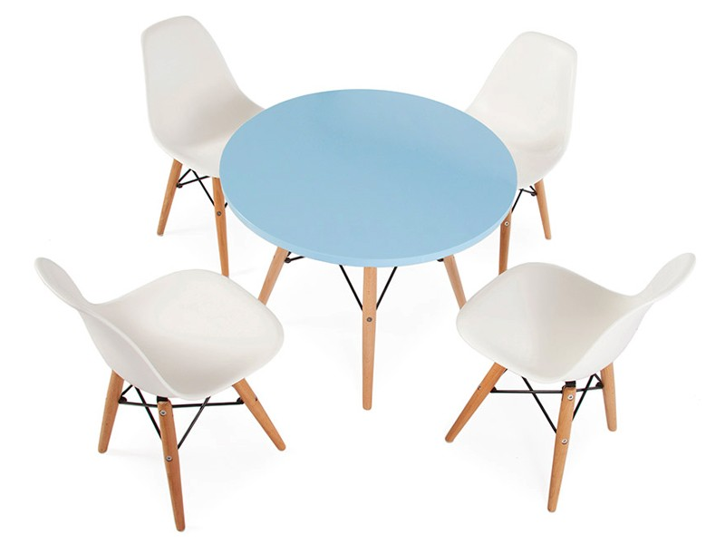 Eames Kids Table 4 Dsw Chairs