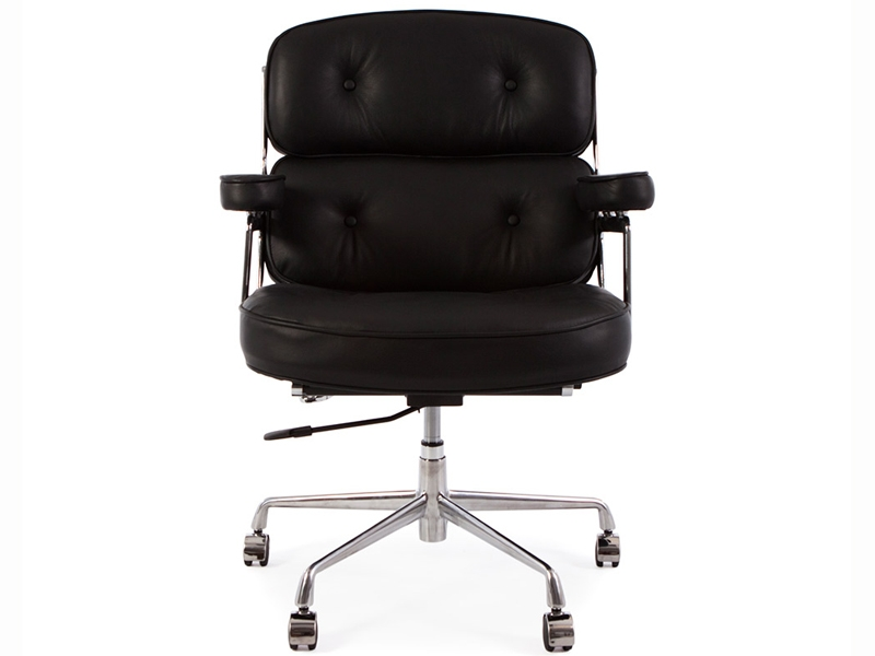 Image of the design chair Eames Lobby ES104 - Black