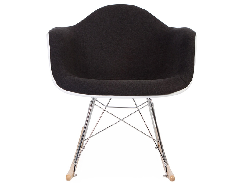 Image of the design chair Eames RAR Wool Padded  - Grey