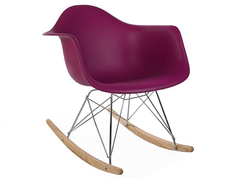 Image of the design chair Eames Rocking Chair  RAR - Purple