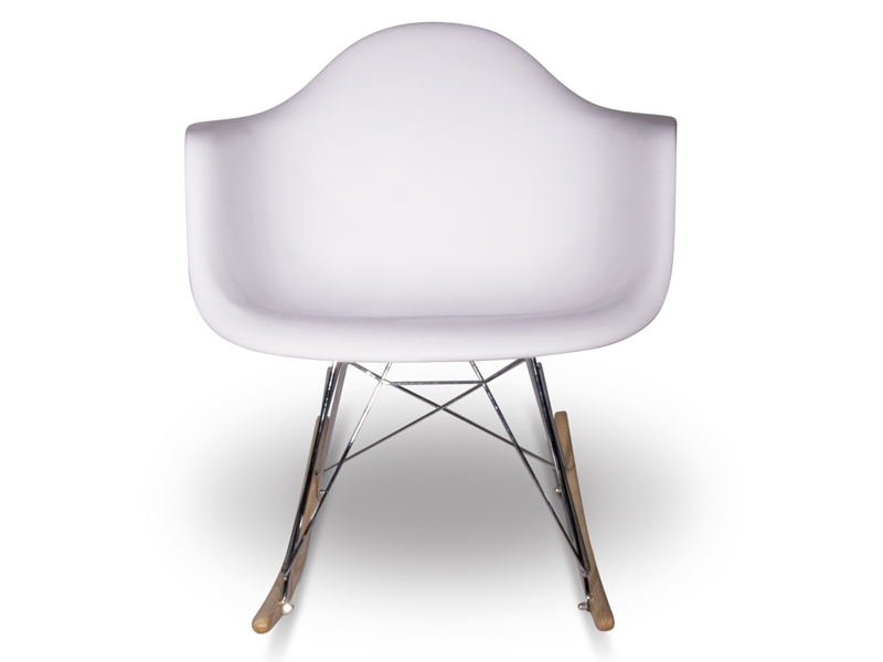 eames rocking chair rar white. Black Bedroom Furniture Sets. Home Design Ideas