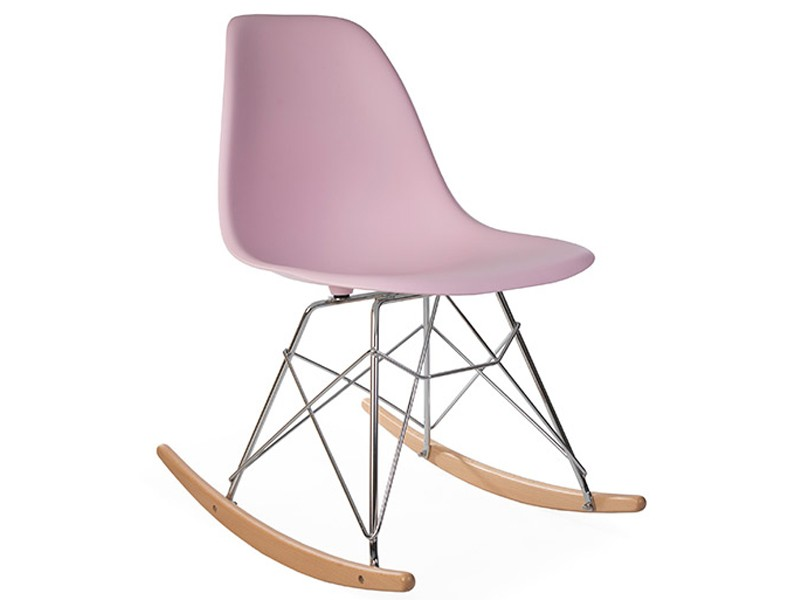 Eames rocking chair rsr light pink - Eams rocking chair ...