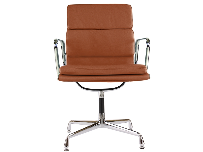 Image of the design chair Eames Soft Pad EA208 - Caramel