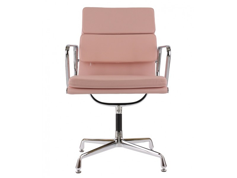 Image of the design chair Eames Soft Pad EA208 - Pink