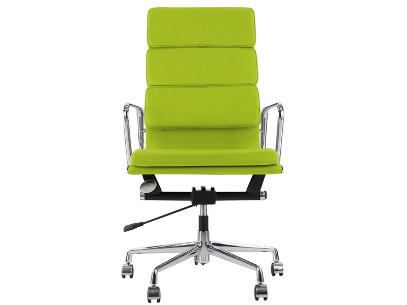 Image of the design chair Eames Soft Pad EA219 - Apple green