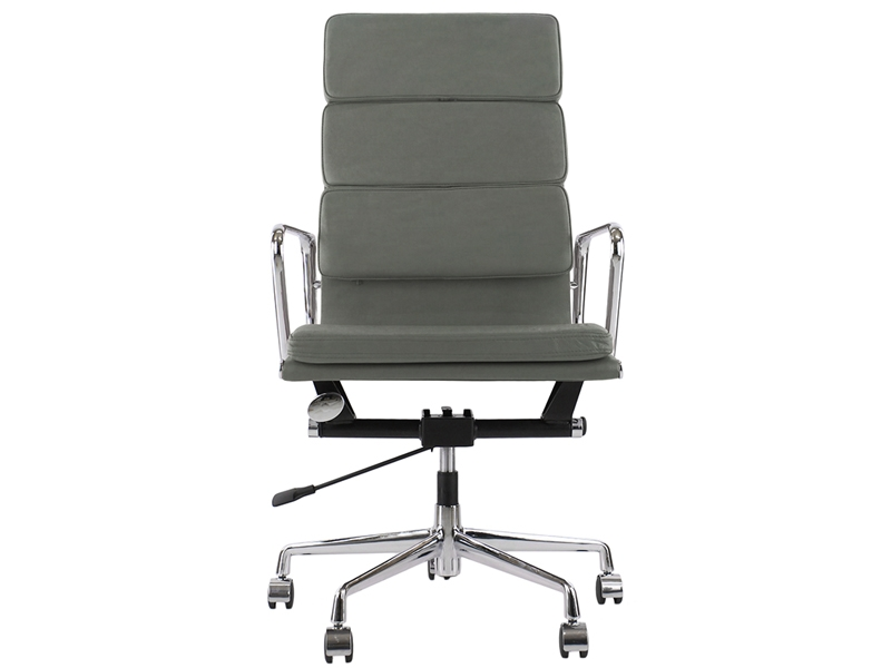 Image of the design chair Eames Soft Pad EA219 - Grey