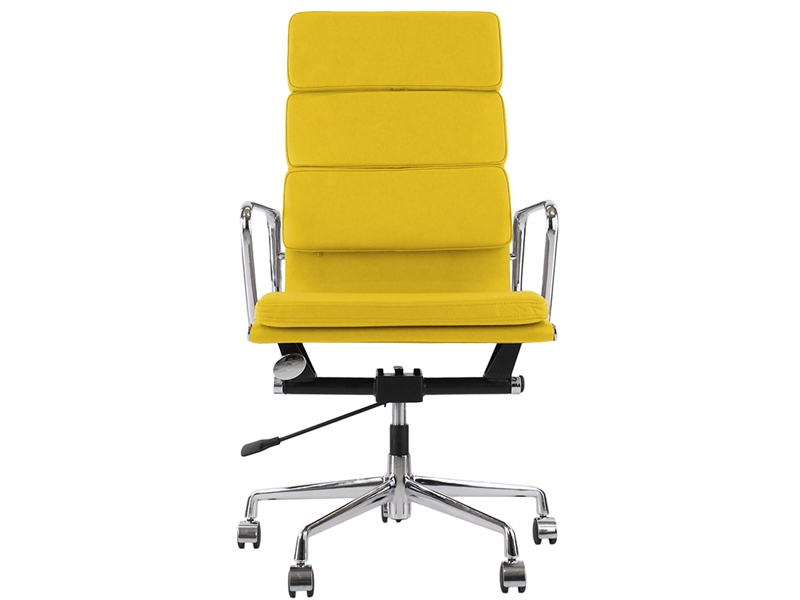 Image of the design chair Eames Soft Pad EA219 - Yellow