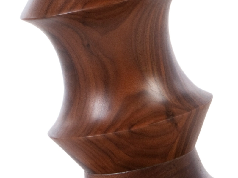 Image of the design chair Eames Walnut Stool - Version C