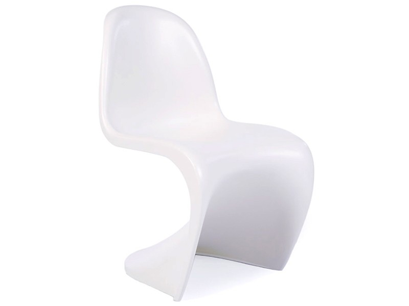 Image of the design chair Eiffel kids table - 4 Panton chairs