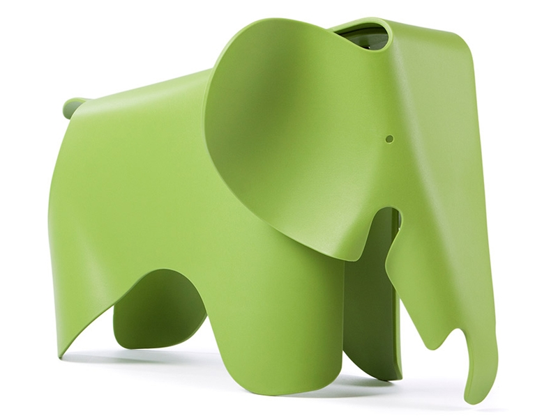 Image of the design chair Elephant Eames - Green
