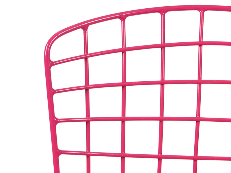 Image of the design chair Kids Bertoia Wire Side Chair - Pink