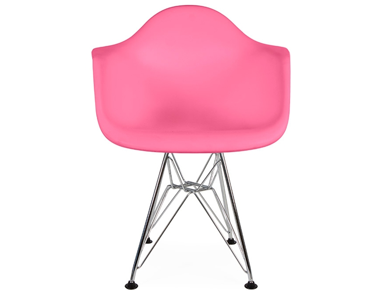 kids chair eames dar pink