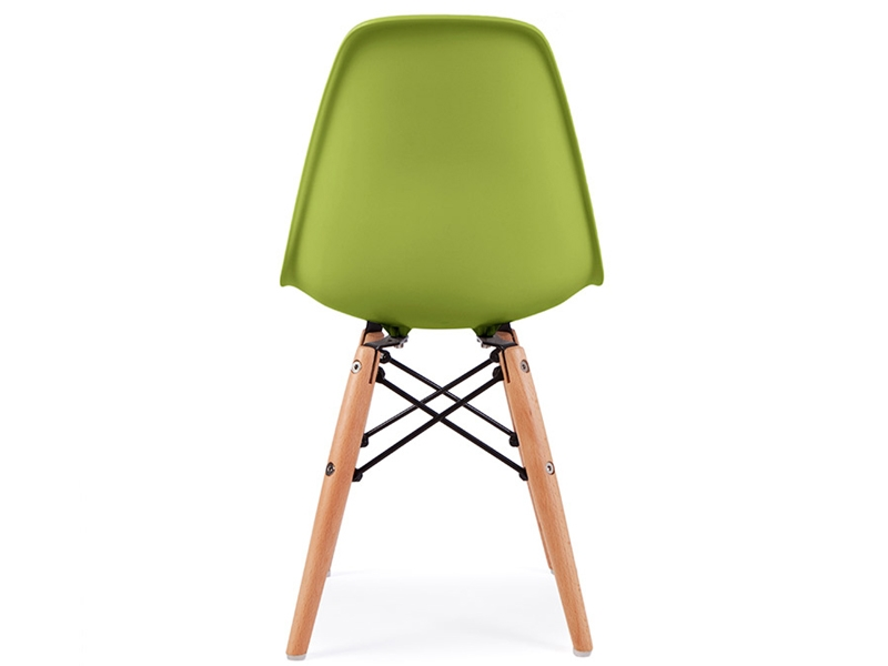 image of the design chair kids chair eames dsw green