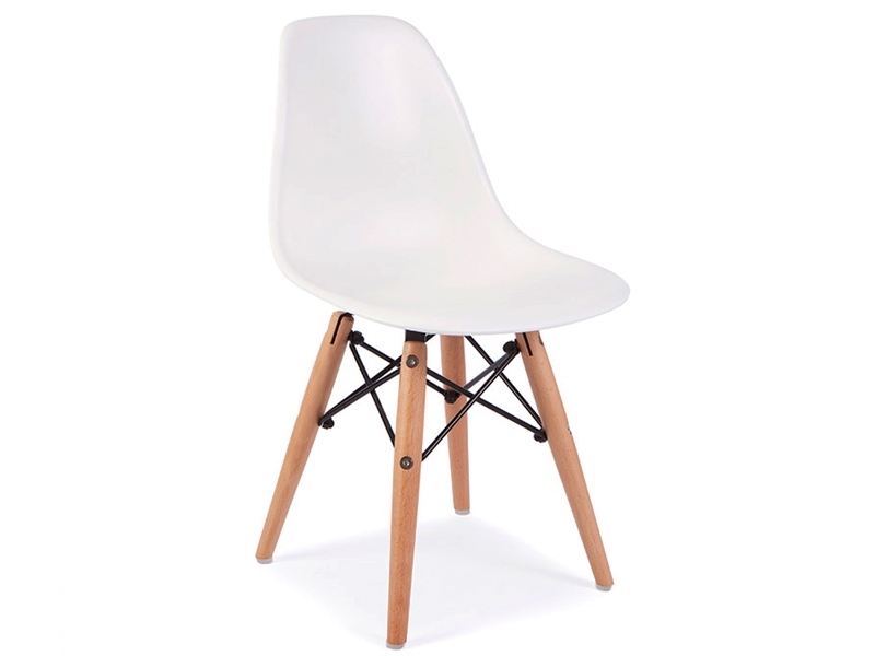 Image of the design chair Kids Chair Eames DSW - White