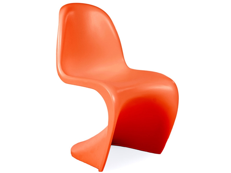 Image of the design chair Kids Chair Panton - Orange