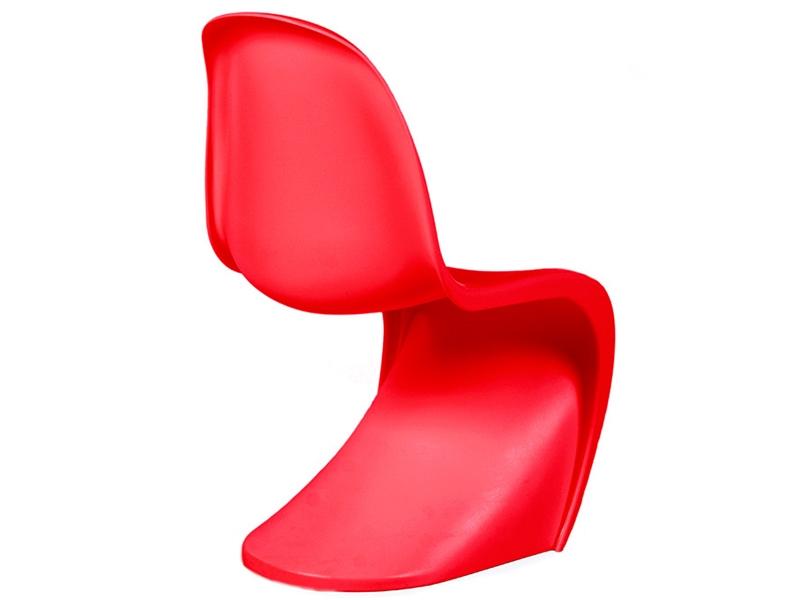 kids chair panton red. Black Bedroom Furniture Sets. Home Design Ideas