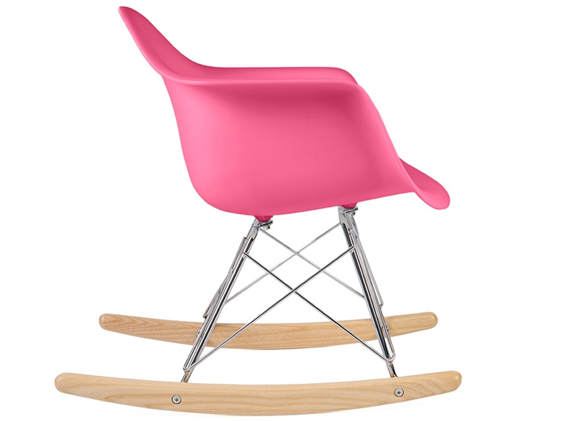 kids eames rocking chair rar pink. Black Bedroom Furniture Sets. Home Design Ideas