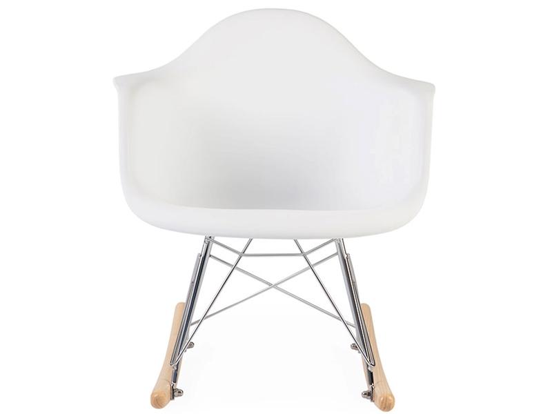 Image of the design chair Kids Eames rocking chair RAR - White