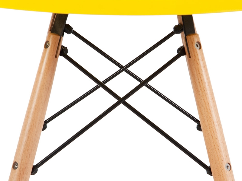 Image of the design chair Kids Table Eames - Yellow