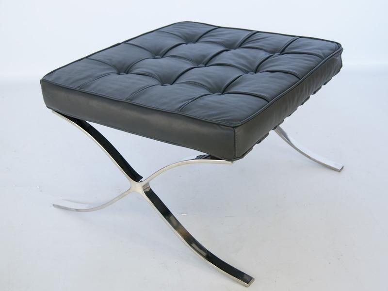Image of the design chair Ottoman Barcelona - Dark grey