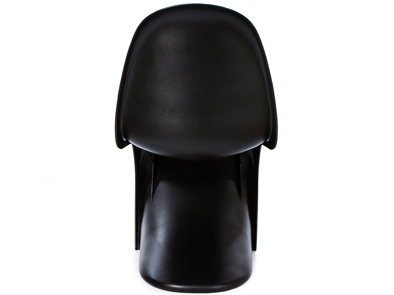 Image of the design chair Panton chair - Black