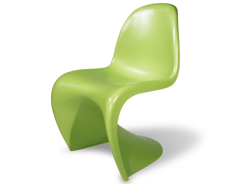 Image of the design chair Panton chair - Green