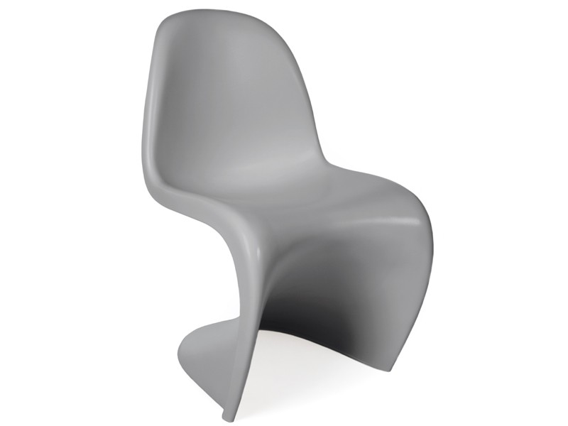 Image of the design chair Panton chair - Grey