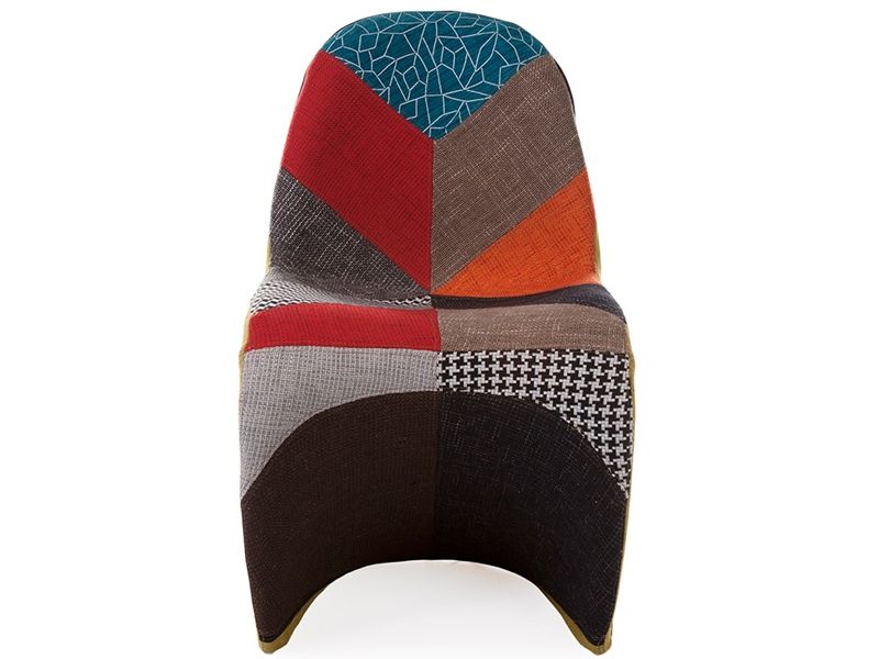 Image of the design chair Panton chair - Patchwork