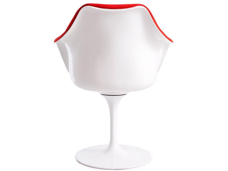 Image of the design chair Tulip arm chair Saarinen - Wool padded