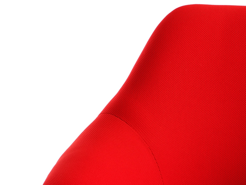 Image of the design chair Tulip arm chair Saarinen - Wool padded