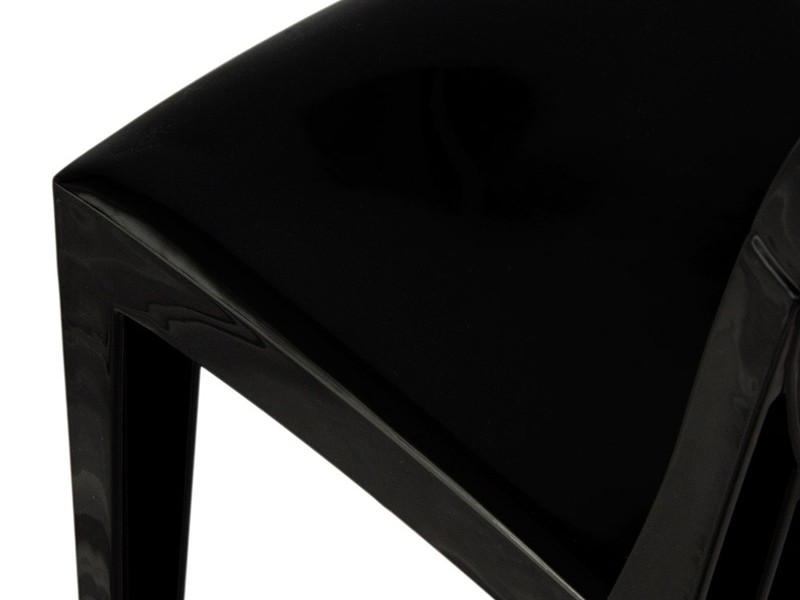 Image of the design chair Victoria Ghost Side Chair - Black