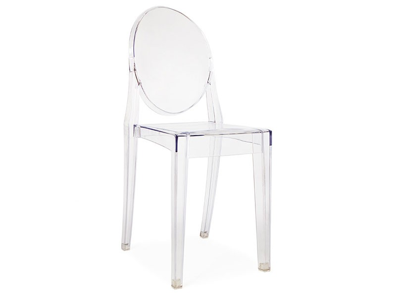 Image of the design chair Victoria Ghost Side Chair - Transparent